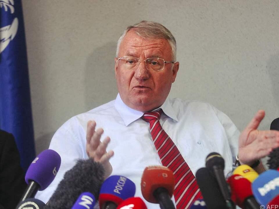 Seselj wurde im März vom Vorwurf der Kriegsverbrechen freigesprochen