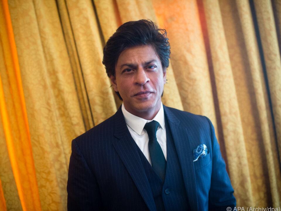 Shah Rukh Khan ist verärgert