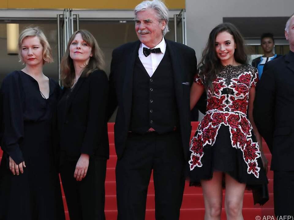 Simonischek und seine FilmkollegInnen im Mai in Cannes