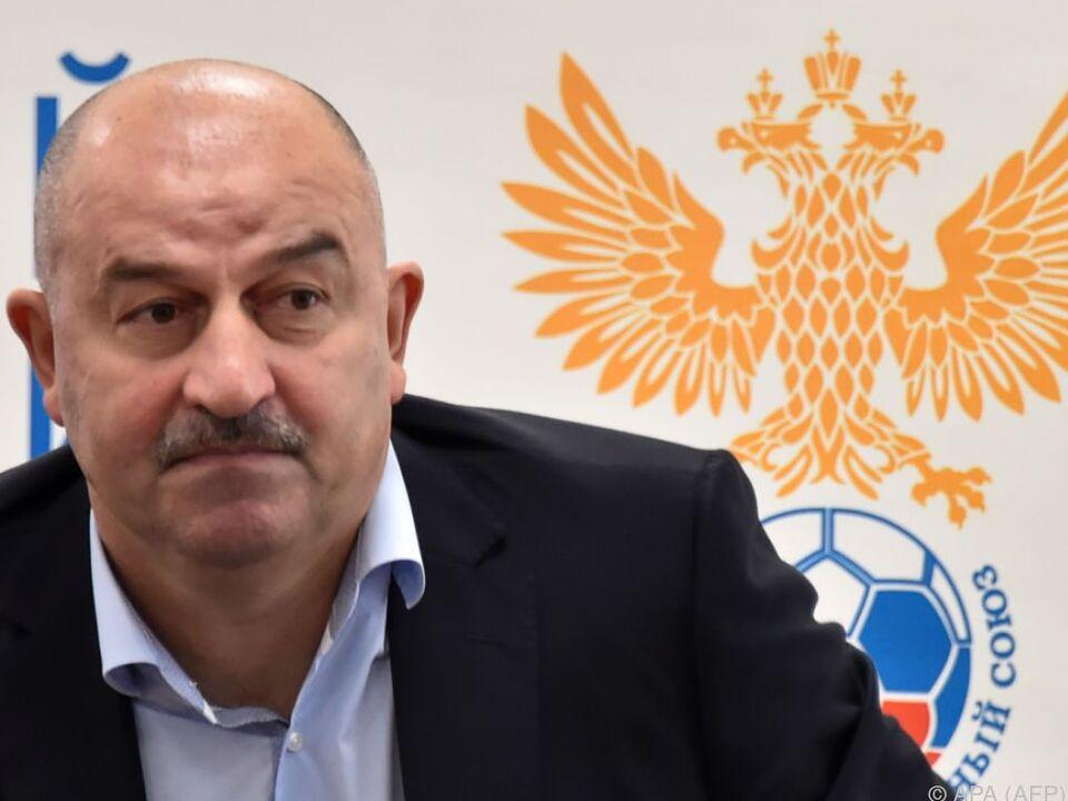 Stanislaw Tschertschessow soll Russland ins WM-Halbfinale führen