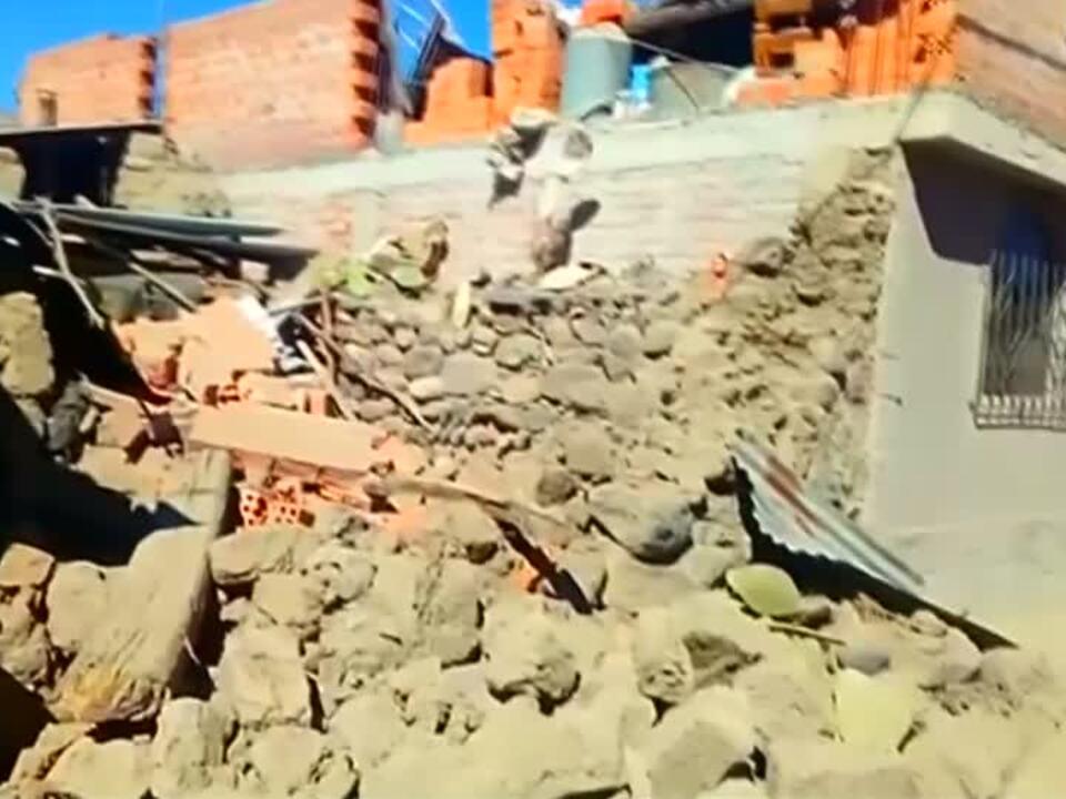 Suche nach Opfern nach Erdbeben in Peru