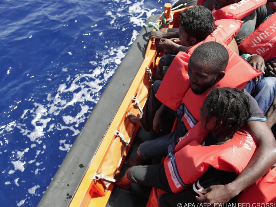 Trotz gesunkener Flüchtlingszahlen starben mehr Menschen