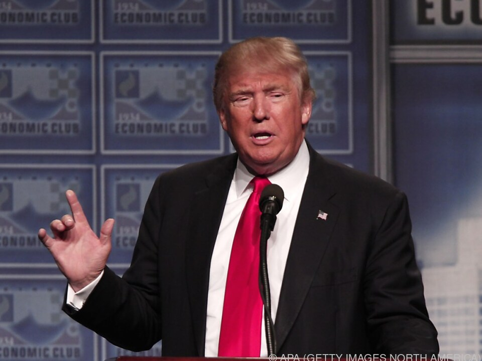Trump löst wieder einmal einen Sturm der Entrüstung aus