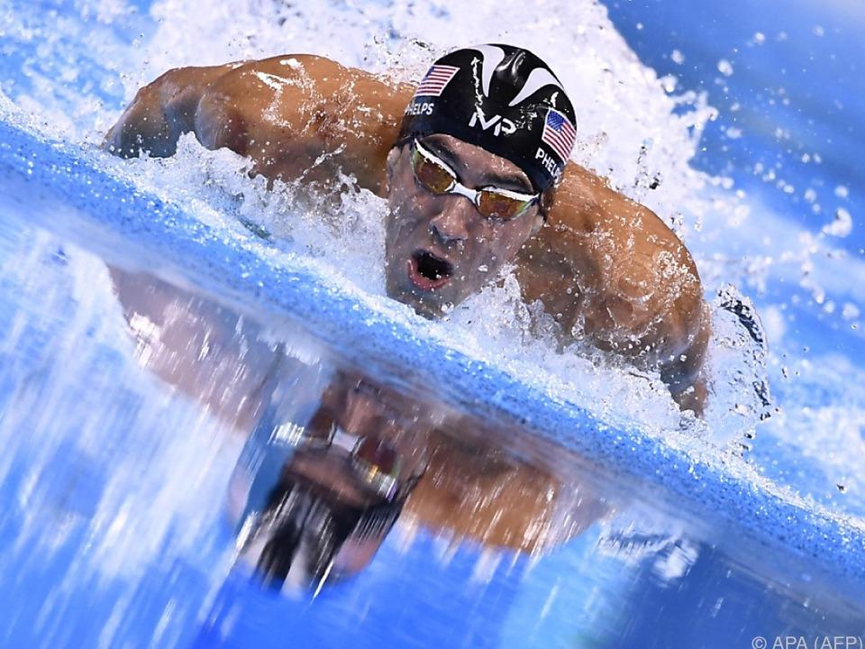 Unantastbar war Phelps über die 200 Meter Lagen