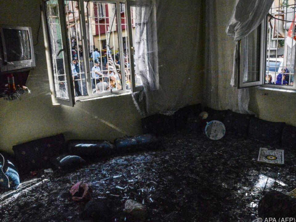 Viele Kinder und Jugendliche kamen bei dem Anschlag ums Leben
