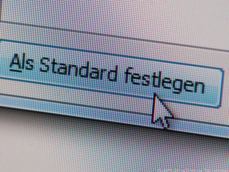 Persönliche Einstellungen lassen sich als Standarddokument anlegen