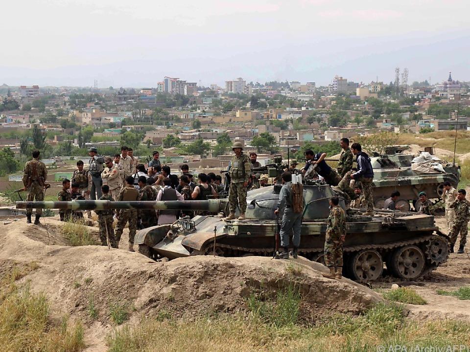 Vier der fünf Bezirke der Provinz Kunduz sind umkämpft