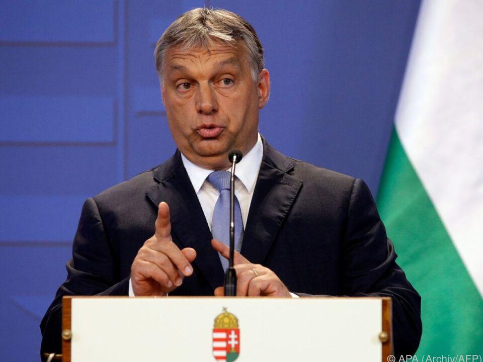 Vorwürfe gegen die Regierung von Orban