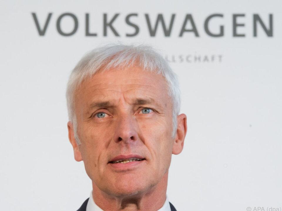 VW-Boss Matthias Müller will Einkaufsverträge unter die Lupe nehmen
