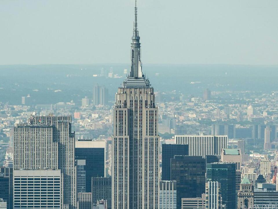Weltbekanntes Empire State Building im Herzen New Yorks usa
