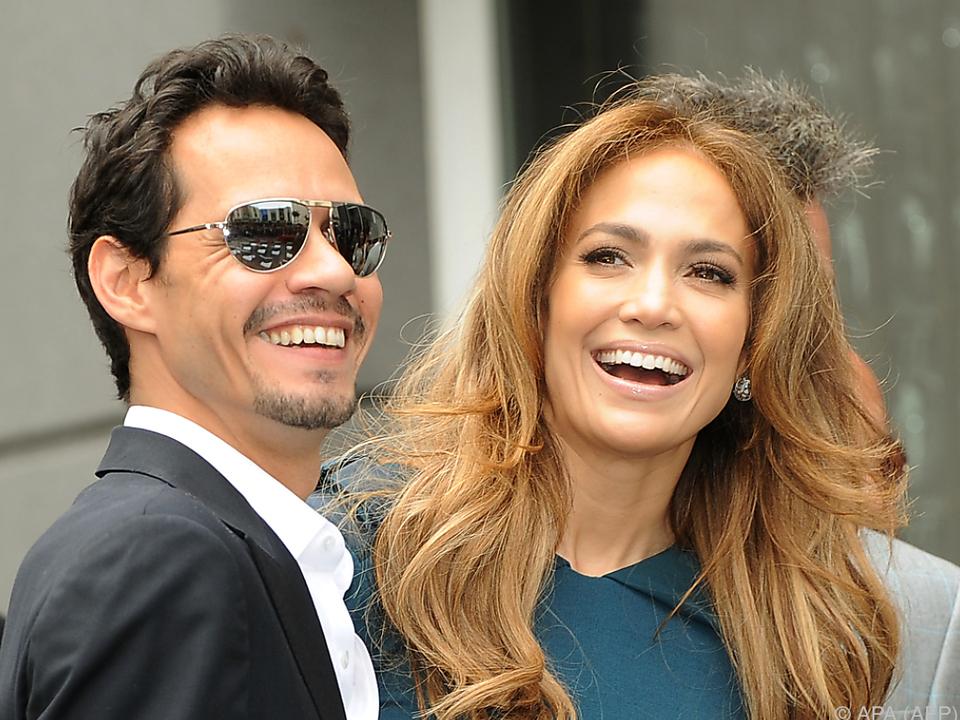 Wie in alten Zeiten: Marc Anthony und Jennifer Lopez sangen gemeinsam