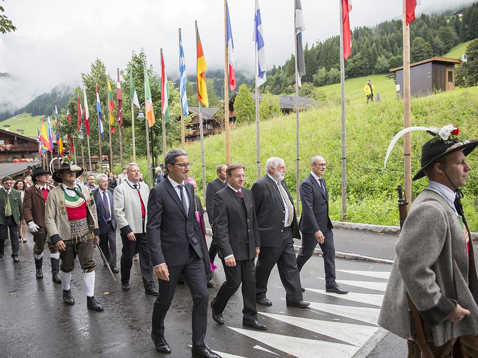 Forum Alpbach 2016 Eröffnung Platter Kompatscher