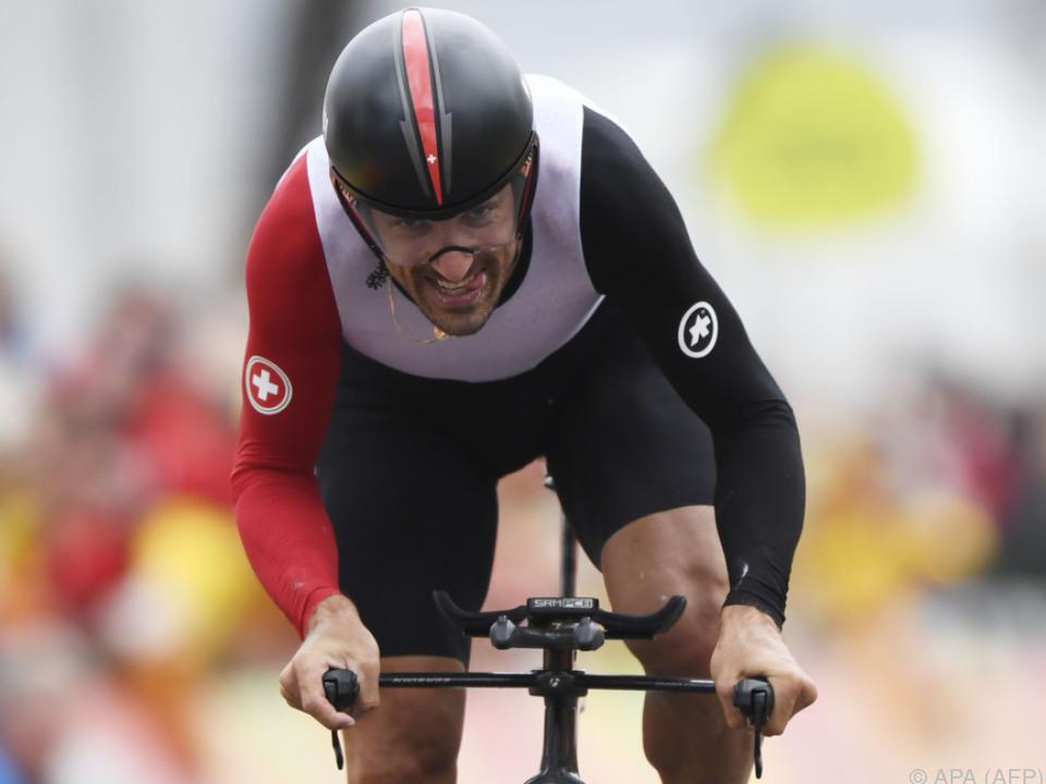 Zweite Goldmedaille für den 35-jährigen Schweizer