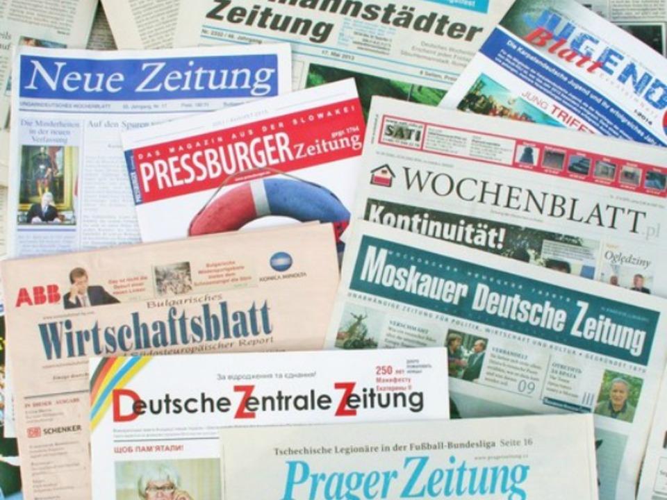 012c-Deutschsprachige Zeitungen Osteuropa