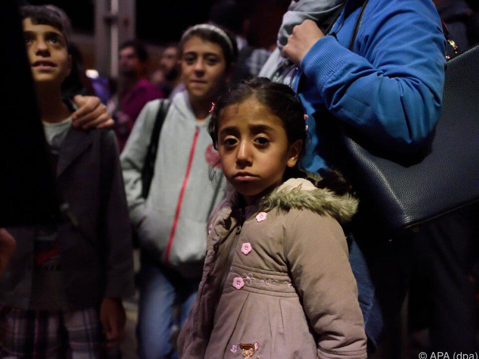 580.000 Minderjährige flüchteten seit 2015 nach Europa