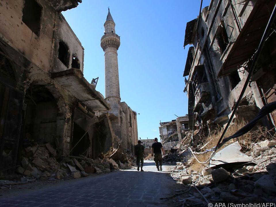 60 syrische Soldaten wurden getötet