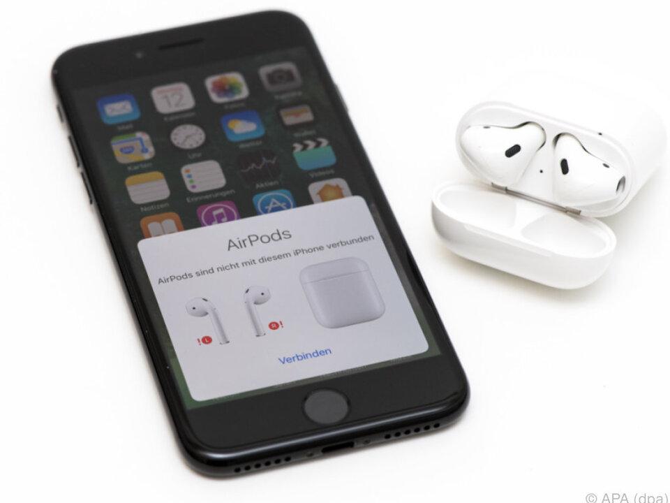 Verbindung von Kopfhörern und Smartphone geht erstaunlich einfach
