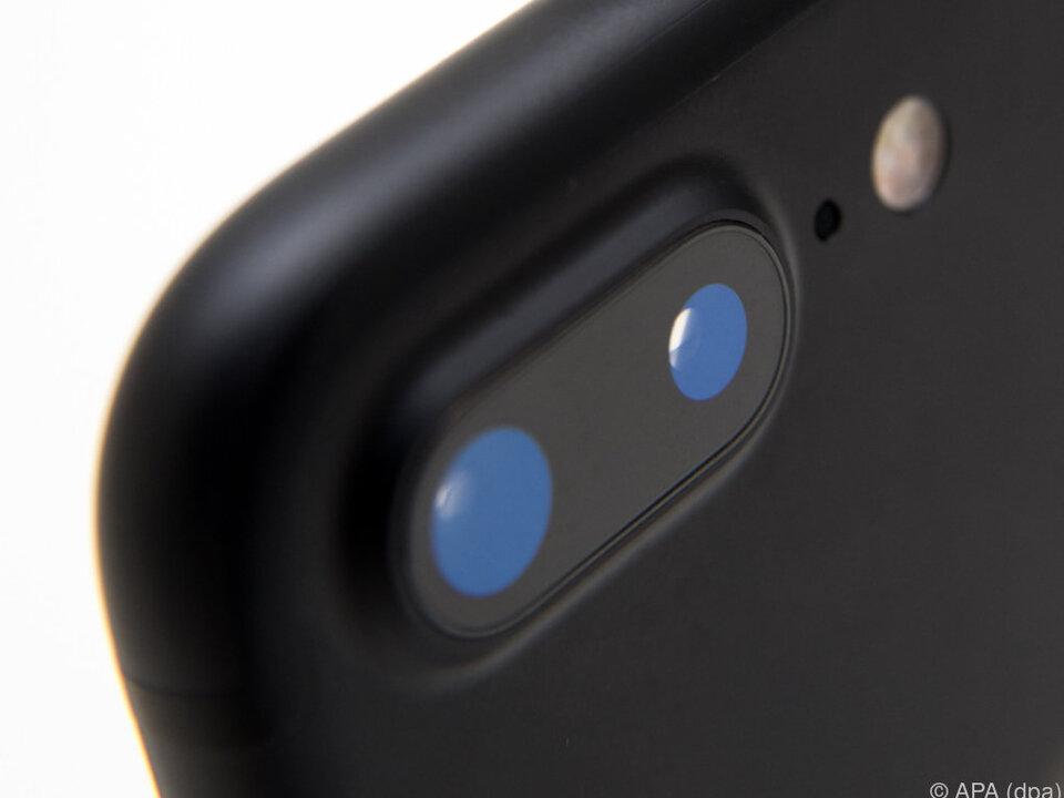 Das größere iPhone 7 Plus hat nun zwei Kameras eingebaut