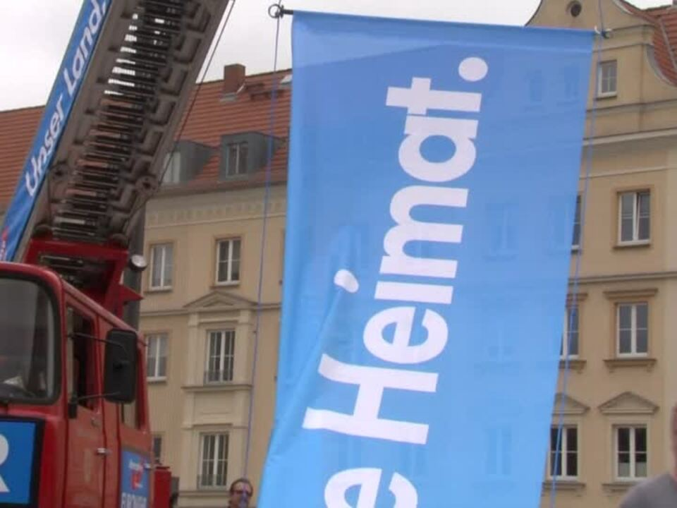 AfD will stärkste Fraktion in Mecklenburg-Vorpommern werden