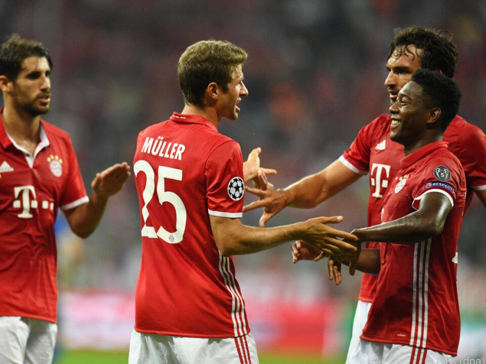 Alaba und Müller fehlen am Samstag