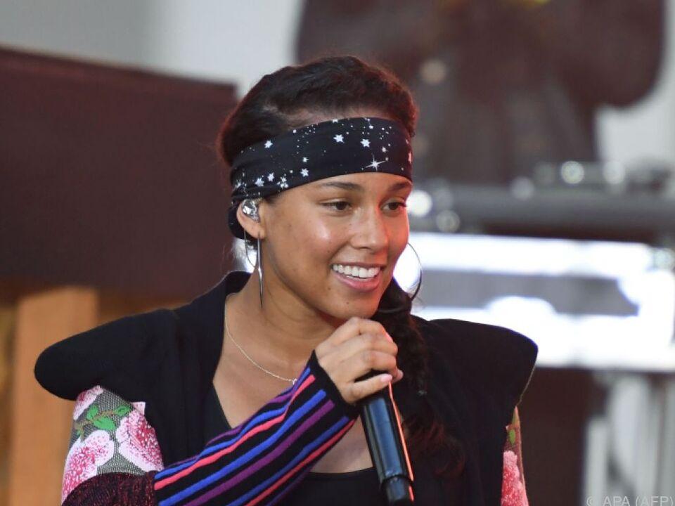 Alicia Keys ist Jurymitglied der US-Castingshow \