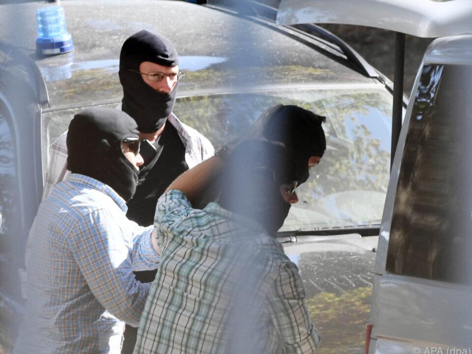 Am Dienstag wurden drei syrische Terroristen verhaftet