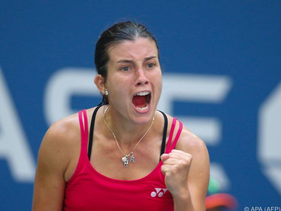 Anastasija Sevastova lebt und trainiert in Wien