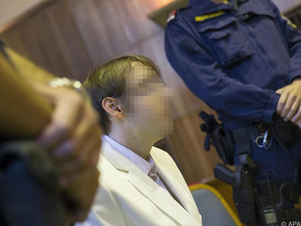 Angeklagter Alen R. im Grazer Straflandesgericht