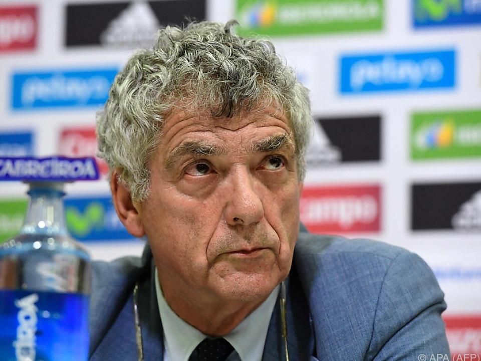 Angel Maria Villar will nicht mehr UEFA-Chef werden