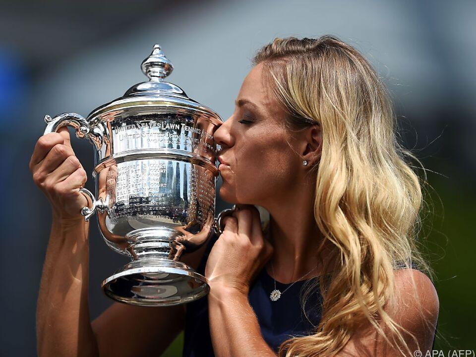 Angelique Kerber gewann die US Open