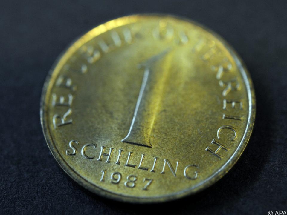 schilling Banknoten können noch getauscht werden, Münzen nicht