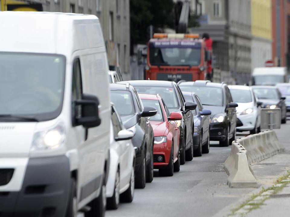 Baustellen verursachten deutlich mehr Staus auto