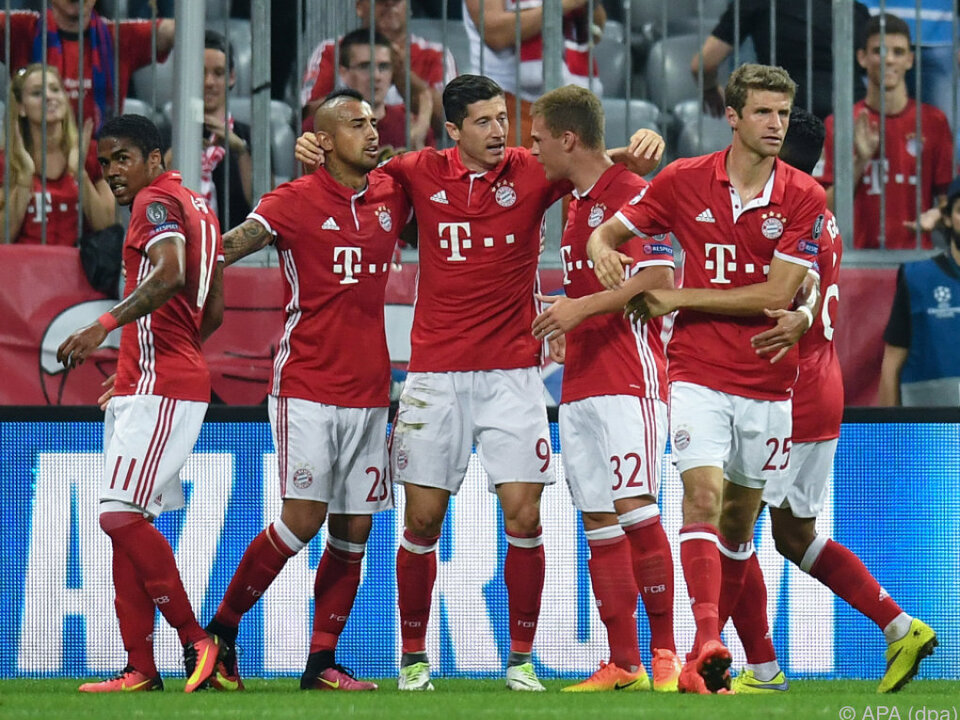 Bayern schlug FK Rostow 5:0