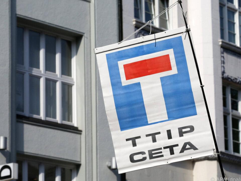 Bei TTIP und CETA scheiden sich die \