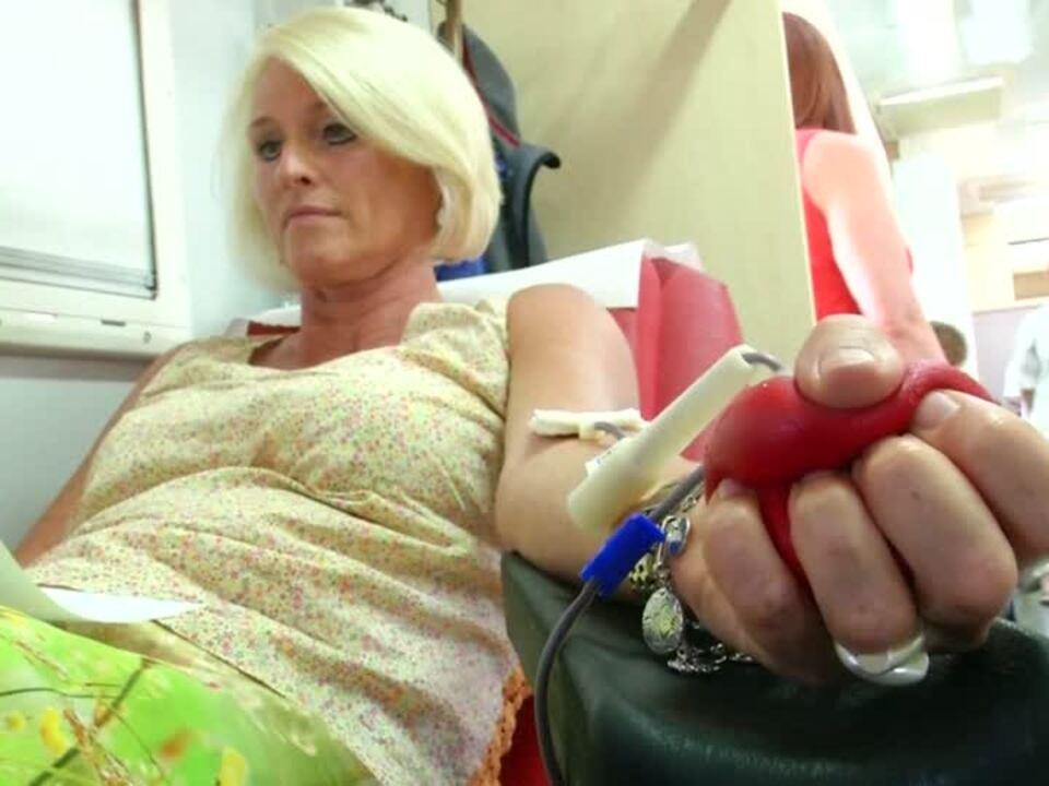 Blut spenden für die Wiesn