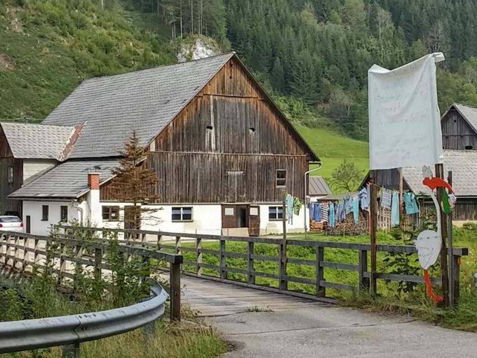 Dorf Bauernhof Osttirol