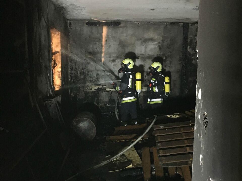 Brand Virgl - Berufsfeuerwehr Bozen