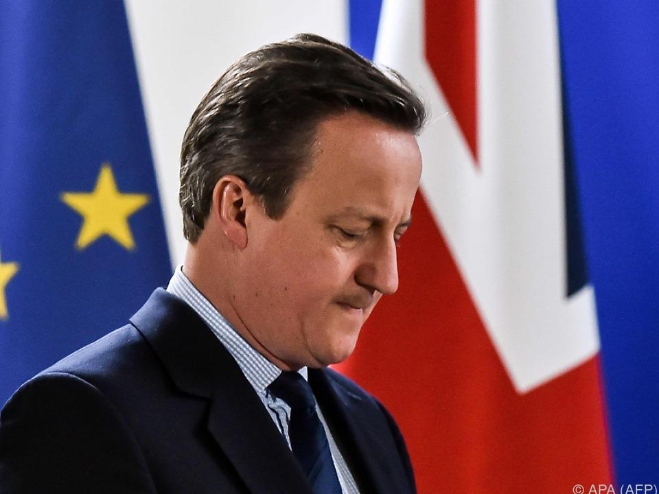 Brexit-Premier David Cameron will nicht ablenken