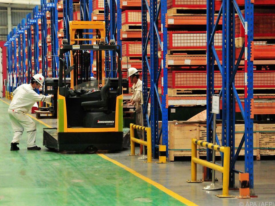 arbeit stapler China ist eine der stärksten Volkswirtschaften