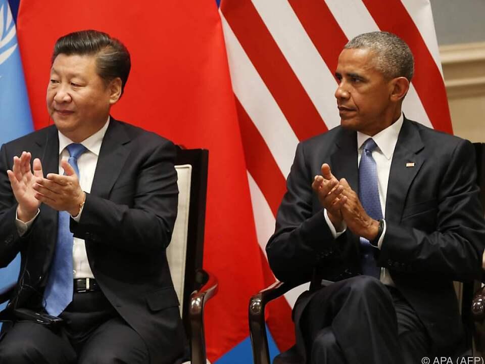 CHina und die USA haben den Deal bereits ratifiziert