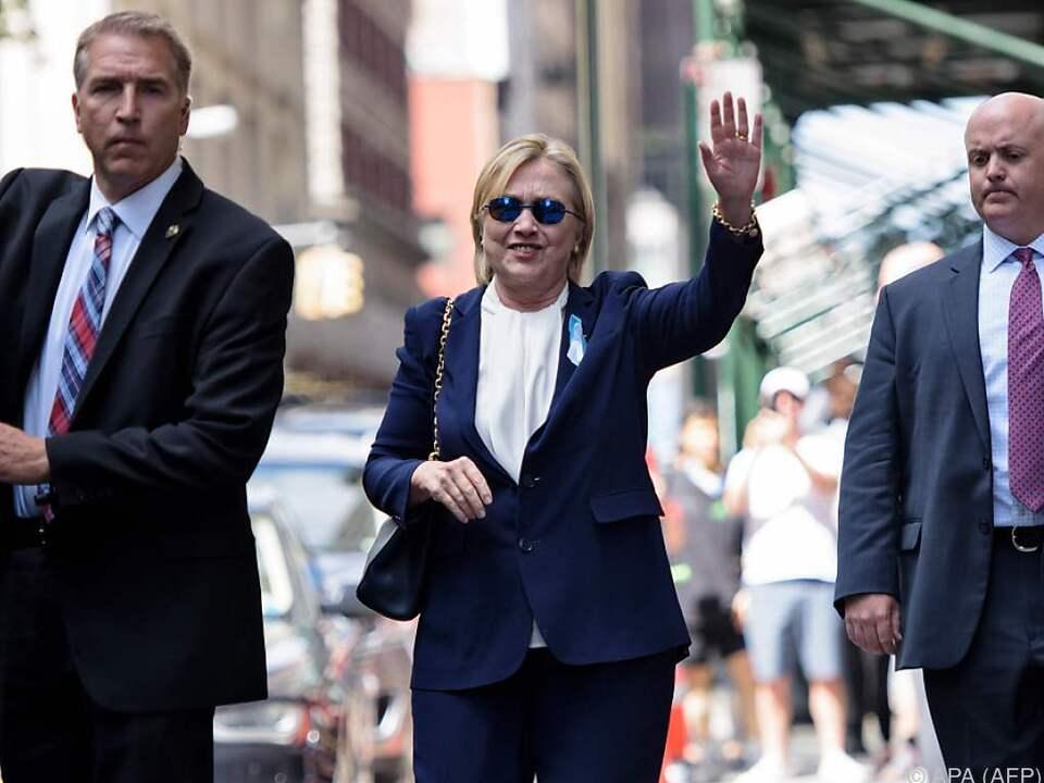 Clinton laut Ärztin fit für Präsidentschaftsamt