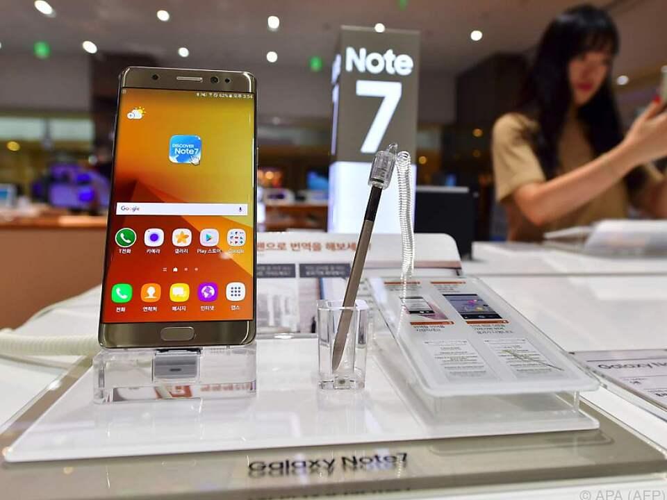 Das Galaxy Note 7 sollte vor dem neuen iPhone durchstarten