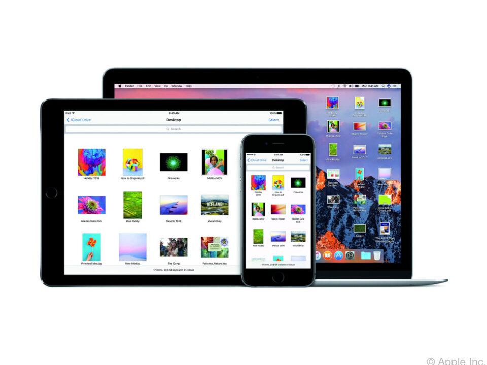 MacOS Sierra erleichtert den Datenaustausch mit anderen Applegeräten
