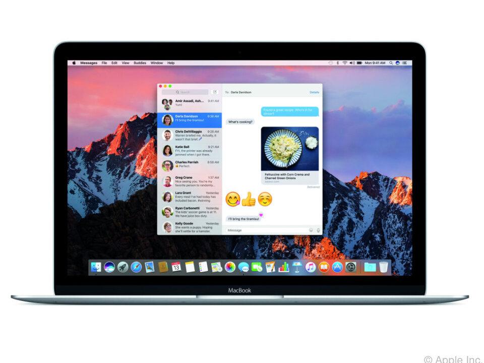 Die Nachrichten-App wurde an die Funktionen von iOS 10 angepasst