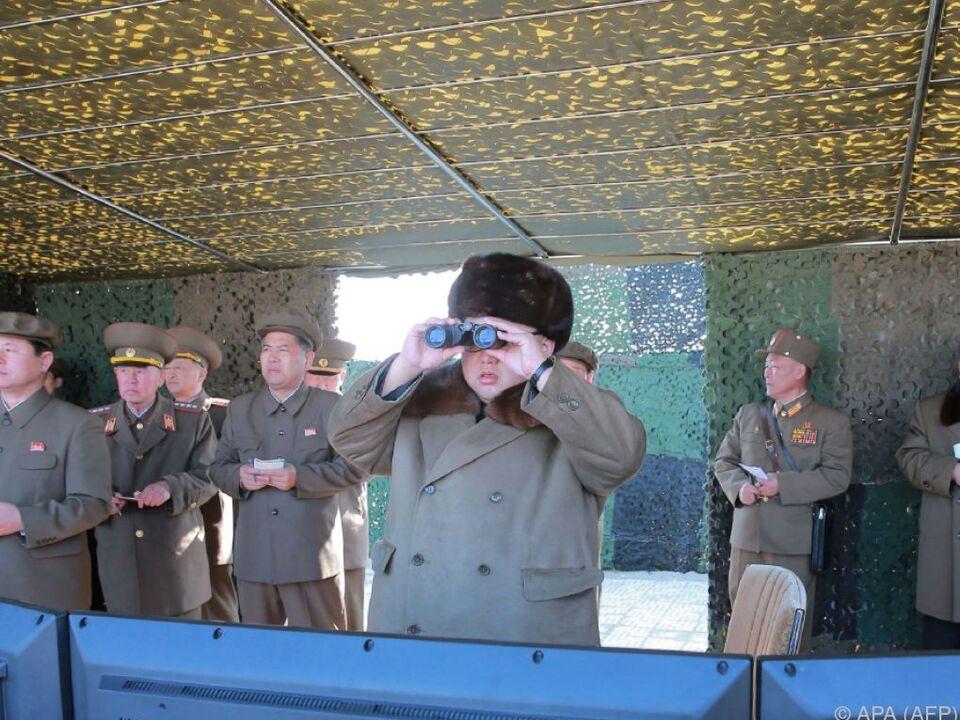 Der Diktator war persönlich anwesend