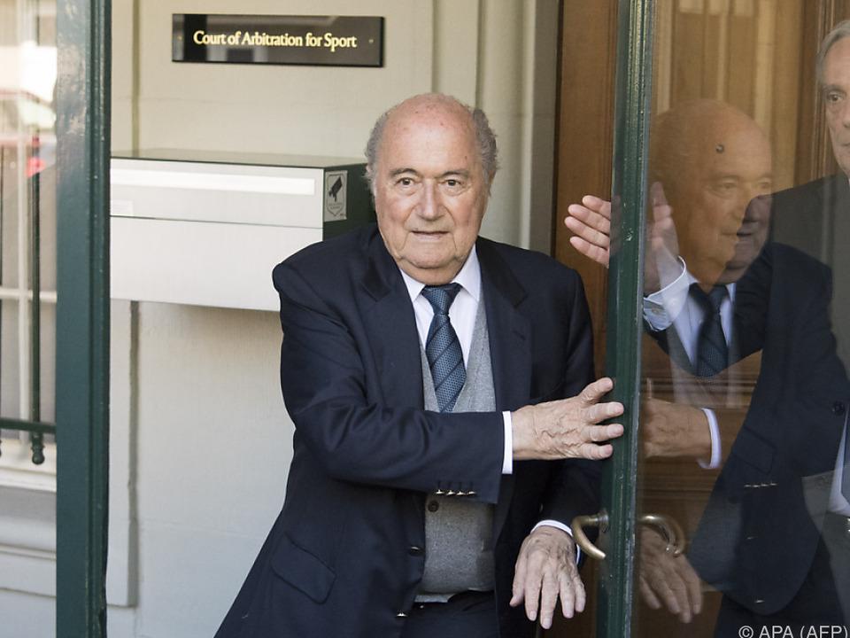 Der frühere FIFA-Präsident im Visier von Ermittlungen