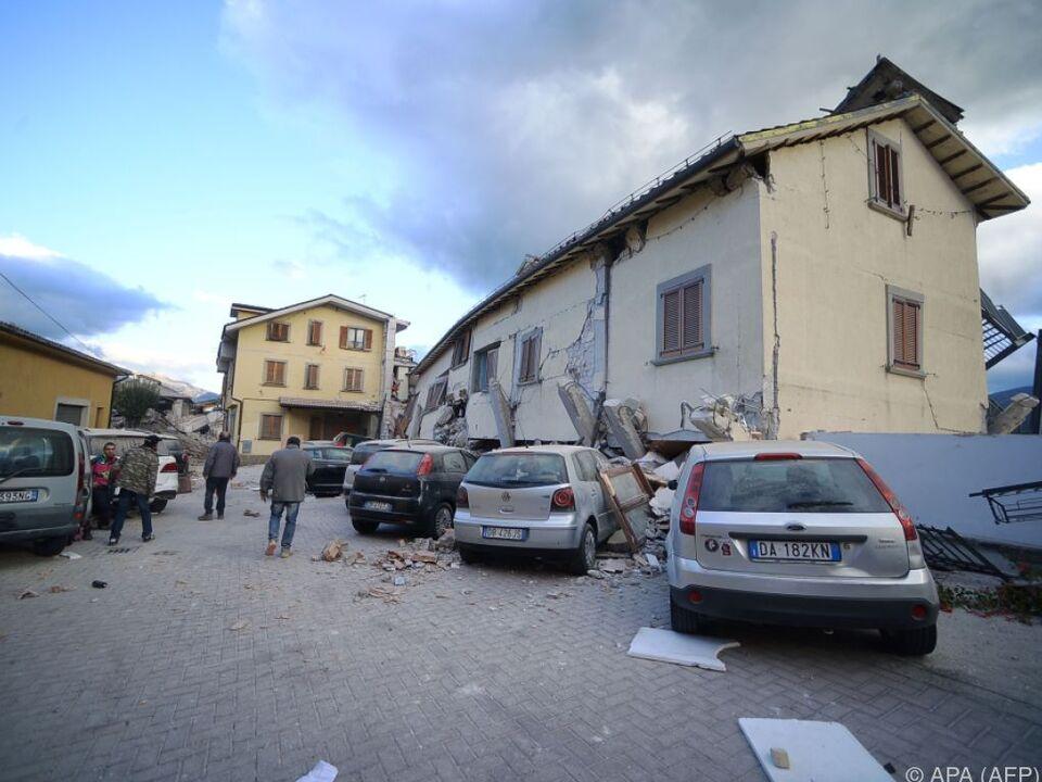 Die Beben lassen Mittelitalien noch keine Verschnaufpase