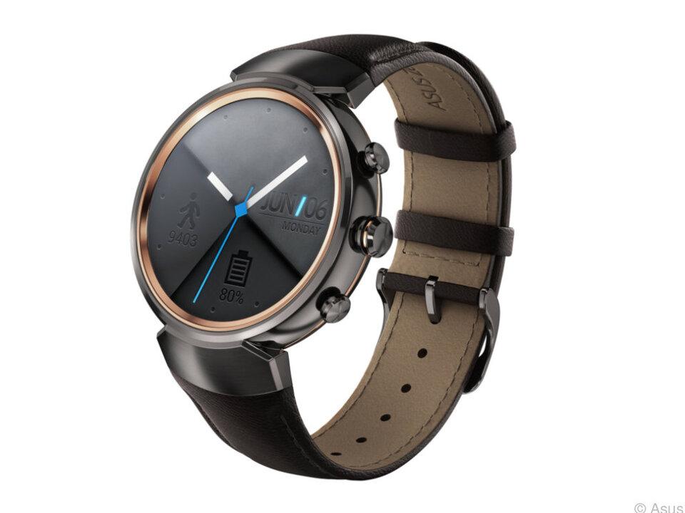 Die Zenwatch ist eine eher traditionell gehaltene Uhr