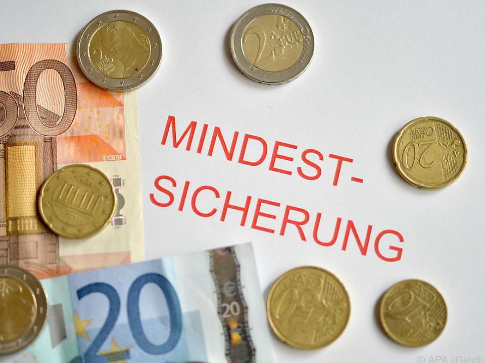 Die ÖVP hätte gerne eine Deckelung der Grundleistung