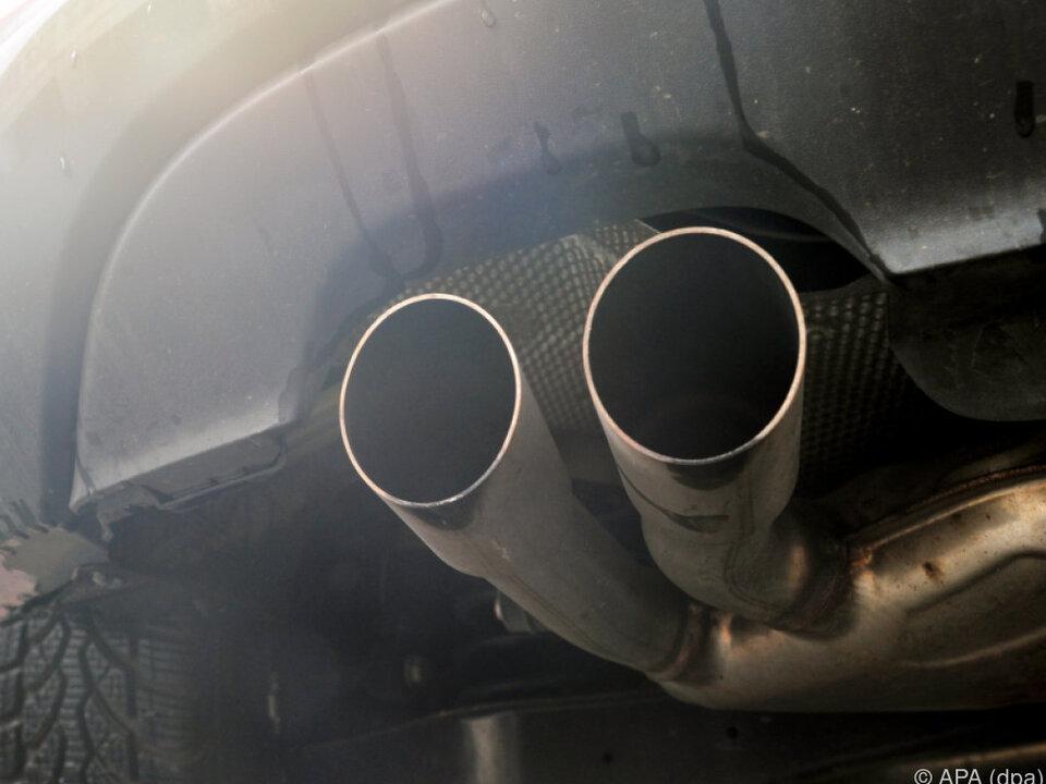 Dieselautos spucken viel Dreck aus